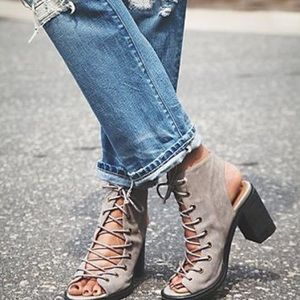 Jeffrey Campbell Free People Lace Up Sandals